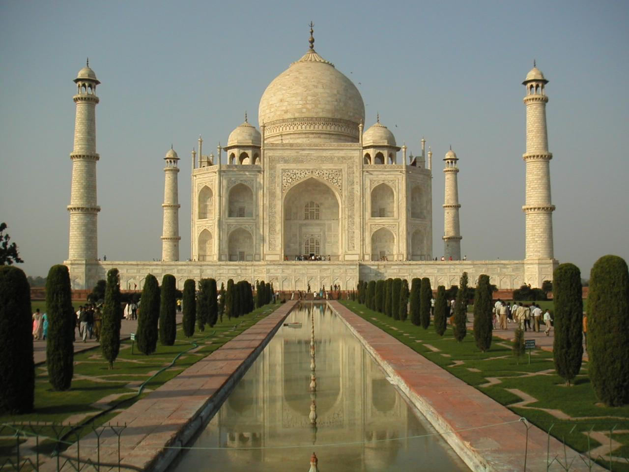 Taj Mahal with Golf Tour
